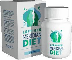 Препарат Leptigen Meridian Diet мини версия.